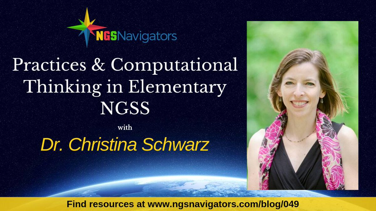 Advertisement for NGSNavitgator event with Christina Schwartz's picture